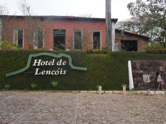 Hotel de Lencois: Fachada do hotel