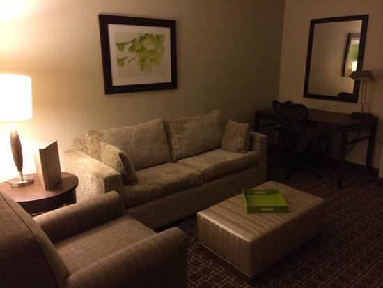 Hilton Garden Inn Raleigh-Cary: King extended room - sitting area