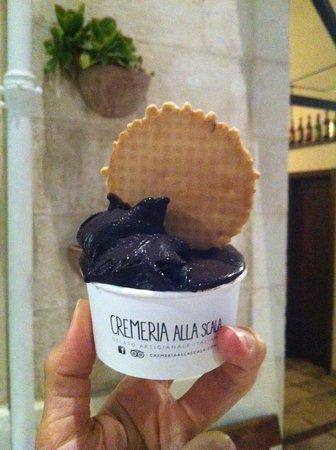 Cremeria alla Scala: coppetta cioccolato fondente