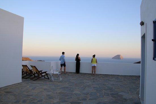 El Sol Hotel : Balcony view