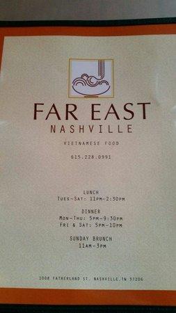 Far East Nashville