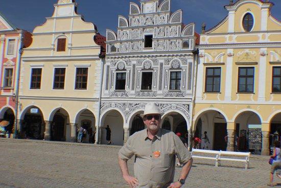 Historic Centre of Telc: Interesting Buildings in Center of Telc, Czech Republic