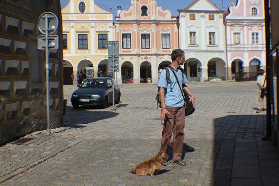 Historic Centre of Telc: Center of Telc, Czech Republic