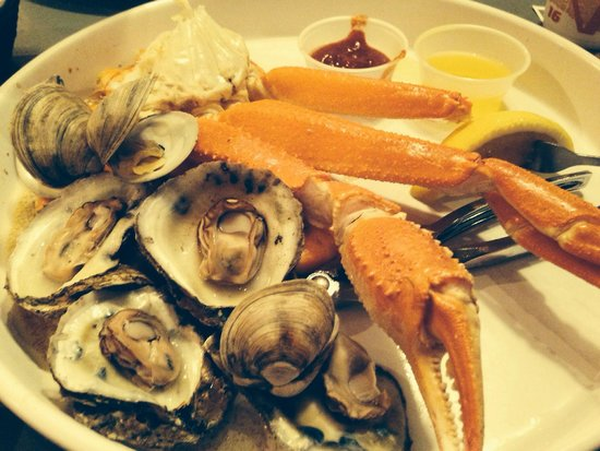 Awful Arthur's Oyster Bar: Steam Pot Combo Crab legs, oysters, clams and dozen of shrimp
