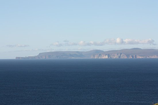 Mey House - Luxury Rooms & Breakfast: A view North to Hoy