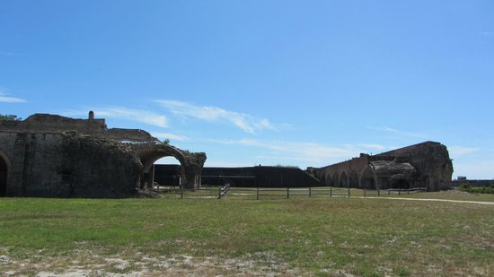 Fort Pickens : Entrance Gap Due To Magazine Explosion