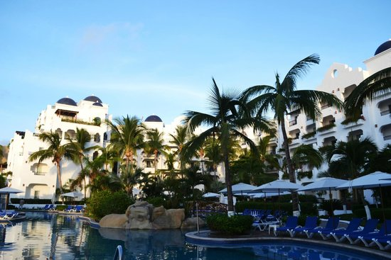 Pueblo Bonito Los Cabos: The hotel looks gorgeous this morning