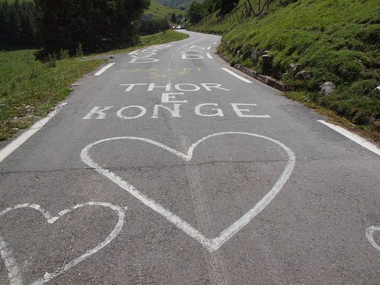 Col du Tourmalet : after the Tour de France, 2011