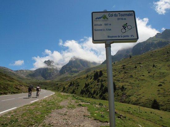 Col de Tourmalet: going up, 2014