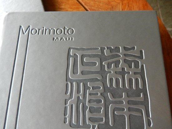 Morimoto Menu