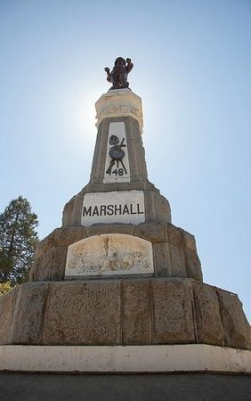 Marshall Gold Discovery State Historic Park: The monument