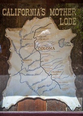 Marshall Gold Discovery State Historic Park: The Mother Lode