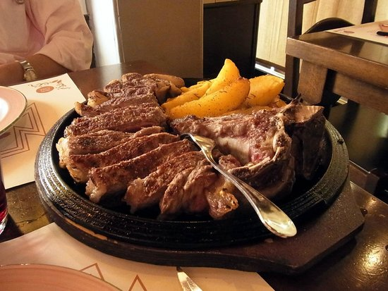 Osteria All'Antico Mercato: Wonderfull T-bone steak