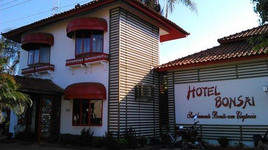Hotel Pousada Bonsai: fachada