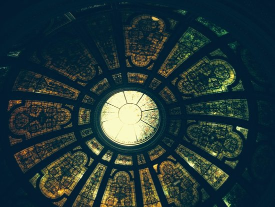 Chicago Detours: ceiling