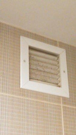 Aloft Dulles Airport North: Bathroom vent