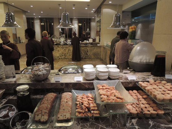 Jaypee Palace Hotel & Convention Centre Agra: 遅い夕食