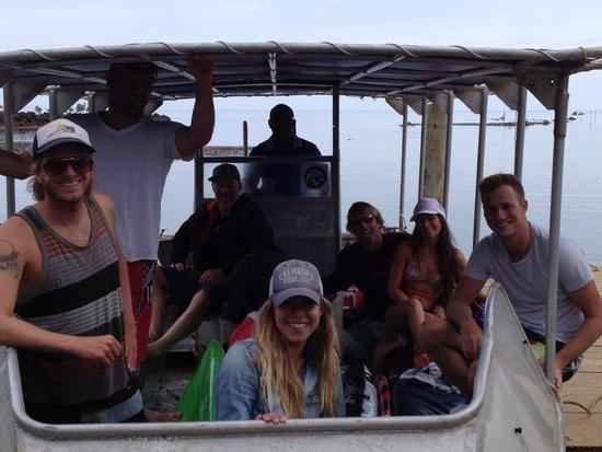 Waidroka Bay Resort: Boat Trip to Frigates