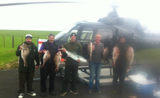 Heletranz Helicopters: The Fishing In Good!
