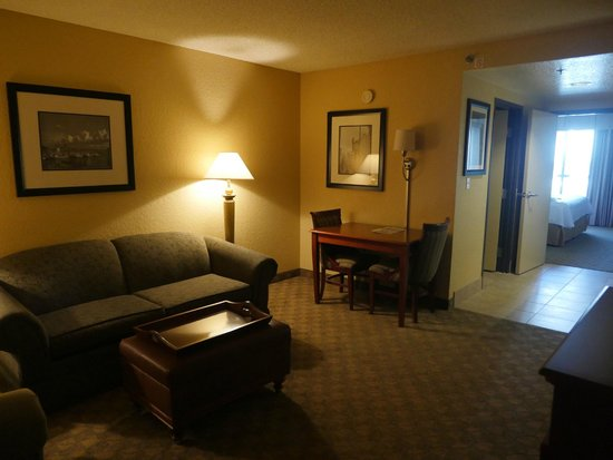 Homewood Suites by Hilton Seattle Downtown : Living room