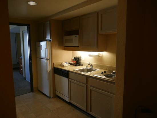 Homewood Suites by Hilton Seattle Downtown : Kitchenette