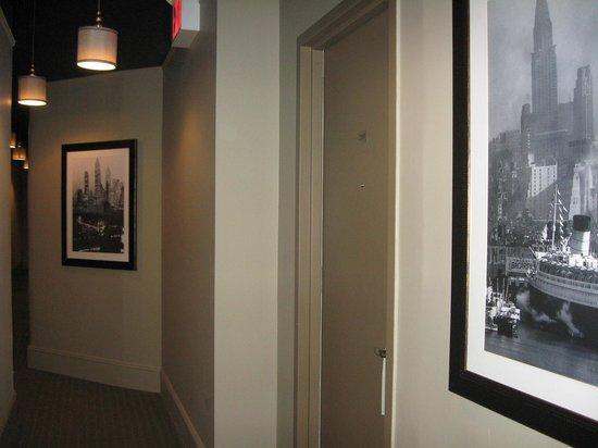 Seton Hotel: Hallway