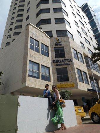 Hotel Regatta Cartagena: Llegada al Hotel