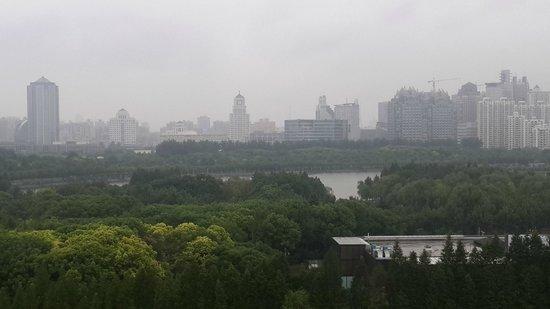 Dorsett Shanghai: VIEW FROM THE BALCONY