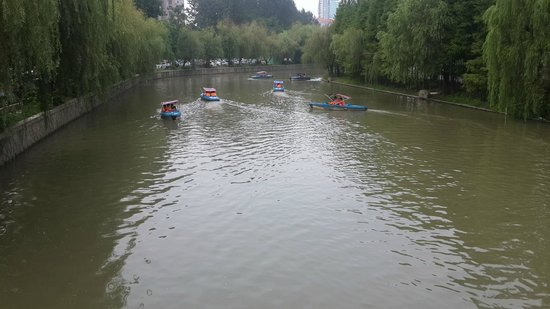 Dorsett Shanghai : Boating at Century Park