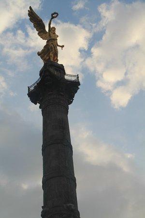 Paseo de la Reforma: Ángel de la Independencia