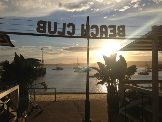 Watsons Bay Boutique Hotel : Entrance to Beach Club