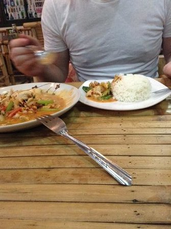 Imchai Thaifood: massaman curry