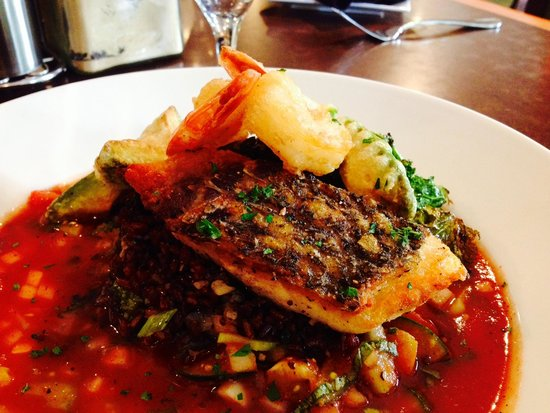 Bigelow Grille: Wild Striped Bass