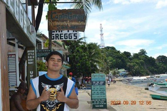 Capt'n Gregg's Accommodation: scuba @ Captn greggs