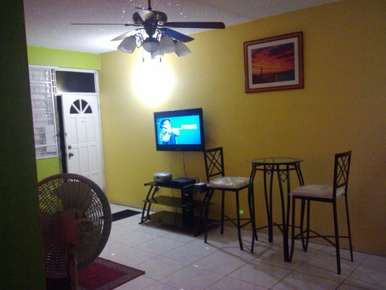 Williams Guest Houses: Large & cozy living area. 2-bedroom Apartment in New Kingston