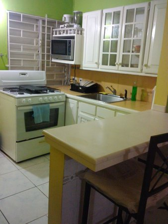 Williams Guest Houses: Spacious Kitchen. 2-bedroom Apartment, Ruthven Rd., New Kingston