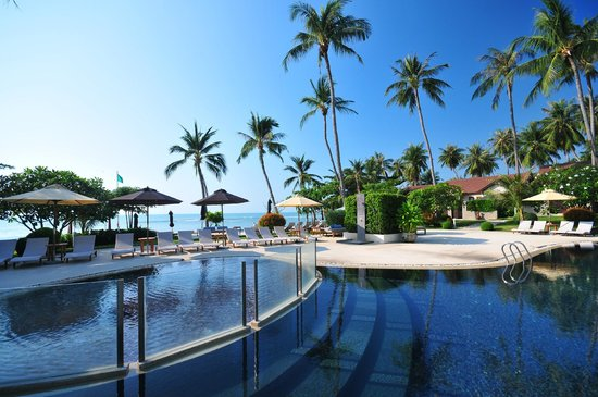 Mercure Koh Samui Beach Resort: Beachfront Swimming Pool