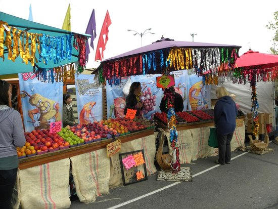 Anchorage Market & Festival: Feria en Anchorage