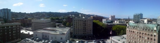 Paramount Hotel: view from 1402