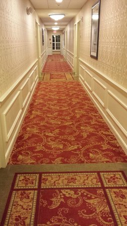 Fairfield Inn Boston Sudbury: Hallway real nice