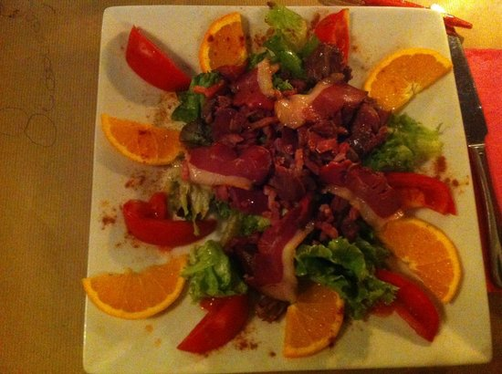 Entr e salade landaise magrets lardons g siers - Esprit de famille decoration ...