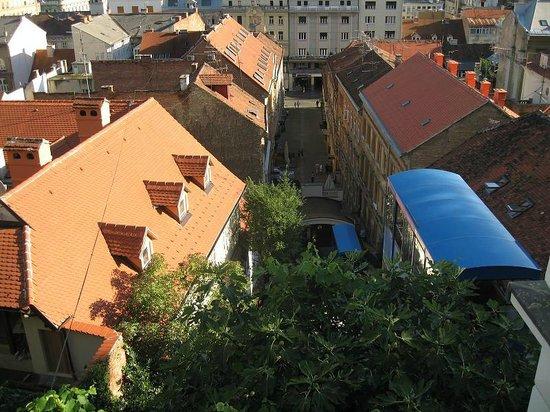 Upper Town (Gornji Grad) : фуникулер