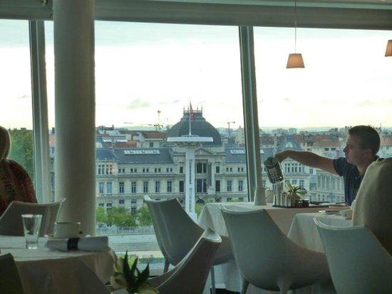 Sofitel Lyon Bellecour: レストランからの眺め