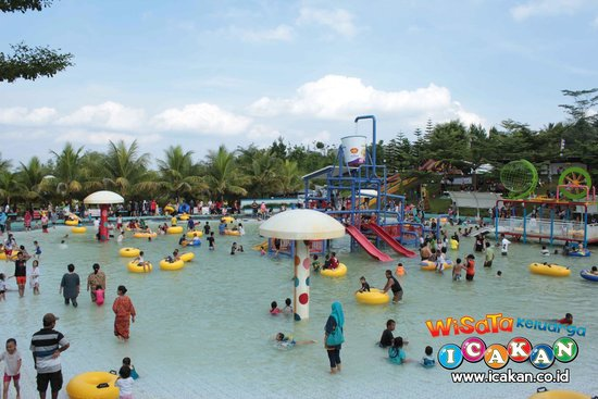 Icakan Family Amusement Park Mega Wisata Icakan