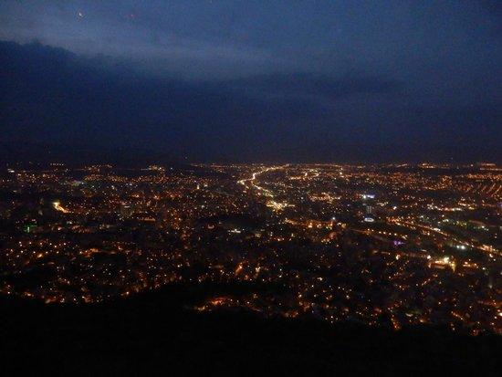 Funicular: Night city view