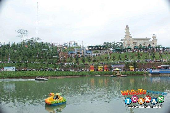 Icakan Family Amusement Park Mega Wisata Icakan Ciamis