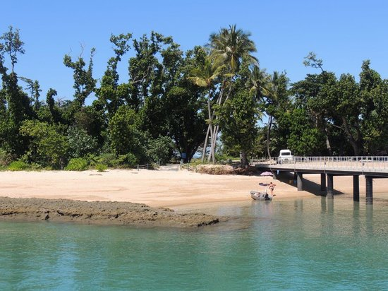Mission Beach Dunk Island Water Taxi: Dunk Island jetty