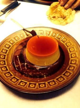 Cafe du Soleil: creme caramel