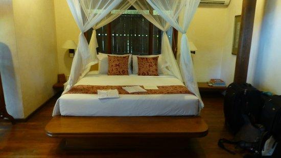 Tandjung Sari: chambre
