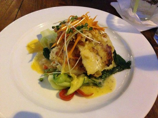 Sea bass picture of lemongrass grill seafood bar for Asian cuisine kauai